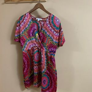 100% Silk mini dress